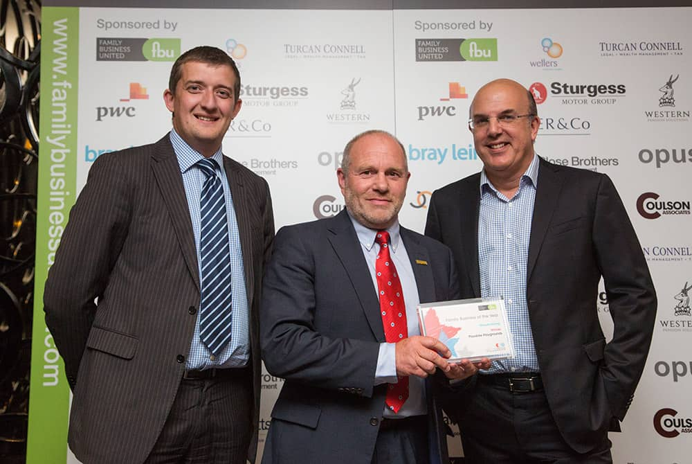 Family Business Awards John Croasdale with award.jpg for website awards page