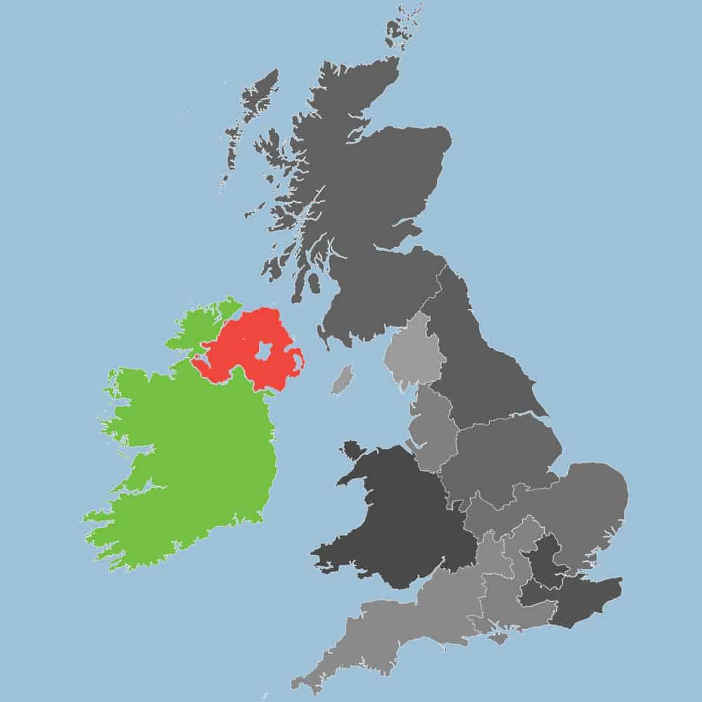 Eire and Northern Ireland