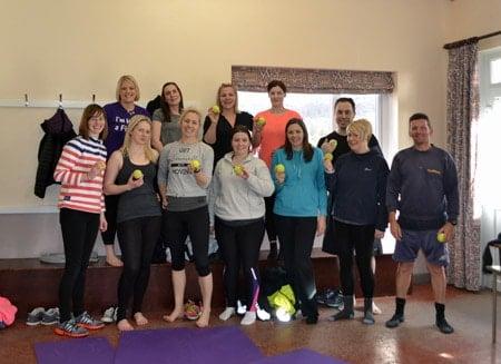 Pilates group shot for website