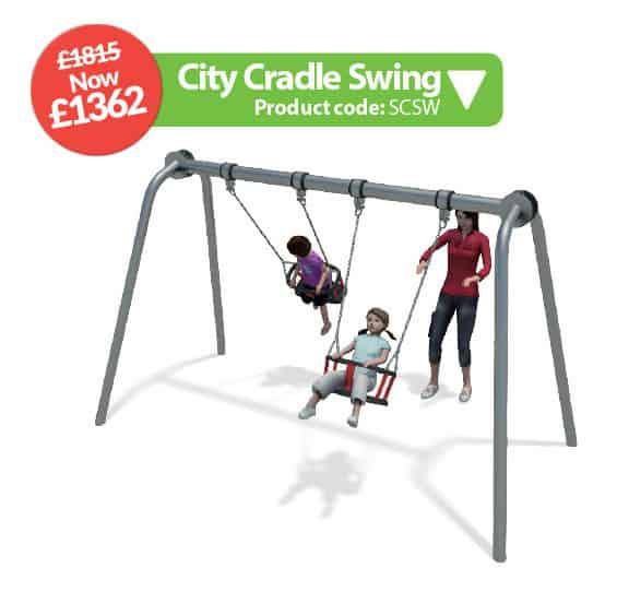 city cradle swing