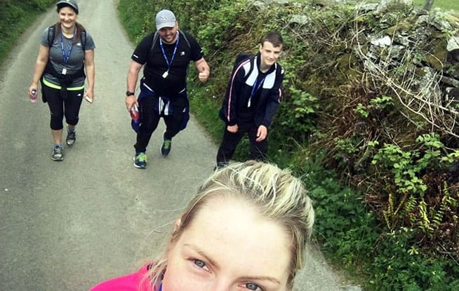 Claire, Andrea, John and Joel from the K2B team