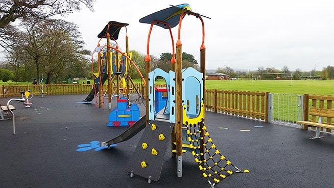 Tottlebank Plus toddler multi play unit
