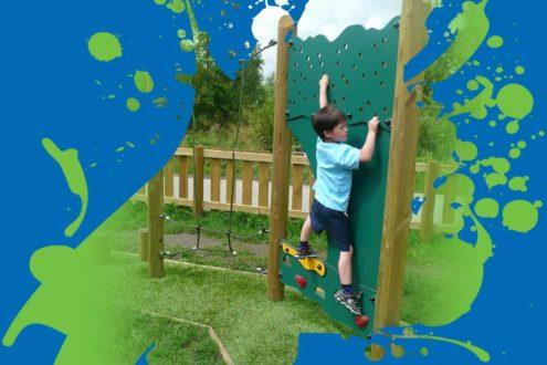Playground Climbing Walls