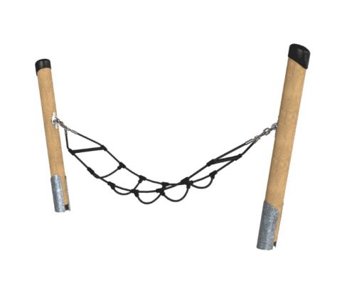 Timber Playground Hammock with rope seat